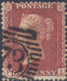 1856 1d Red SG30 Plate 36 'FL'
